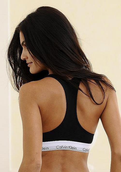 Černá sportovní podprsenka Calvin Klein