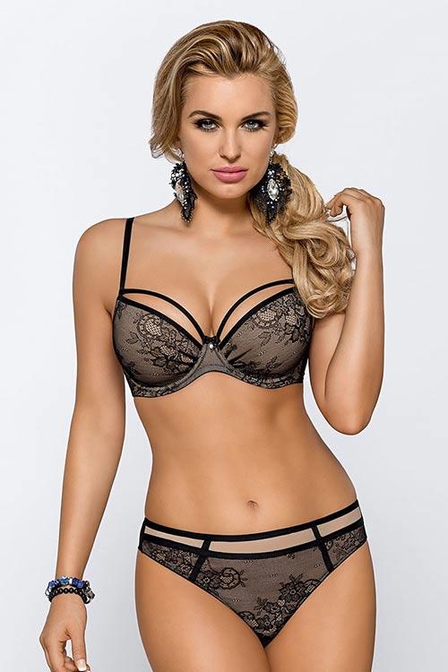 Černé krajkové sexy pradélko