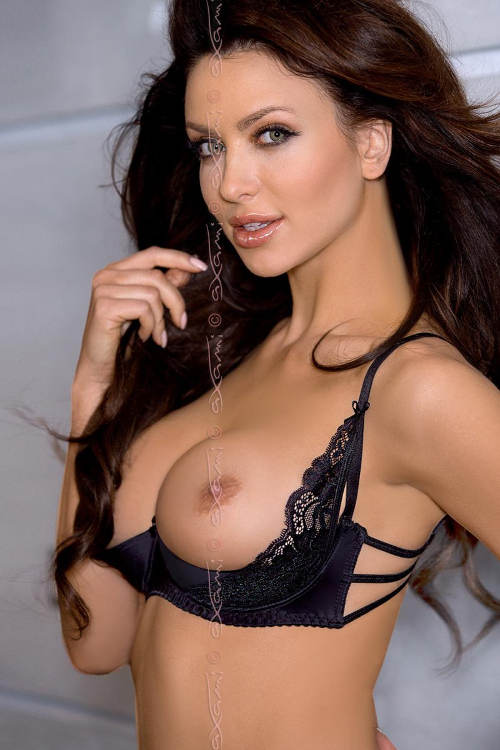 Černá sexy podprsenka