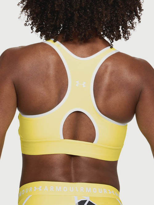 Žlutá fitness podprsenka