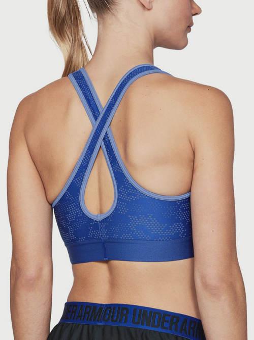 Modrá dámská sportovní podprsenka