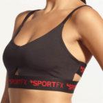 Podprsenka na cvičení SportFX Twist Back Bra