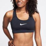 Černá sportovní podprsenka Nike