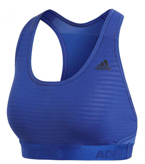Modrá sportovní podprsenka Adidas