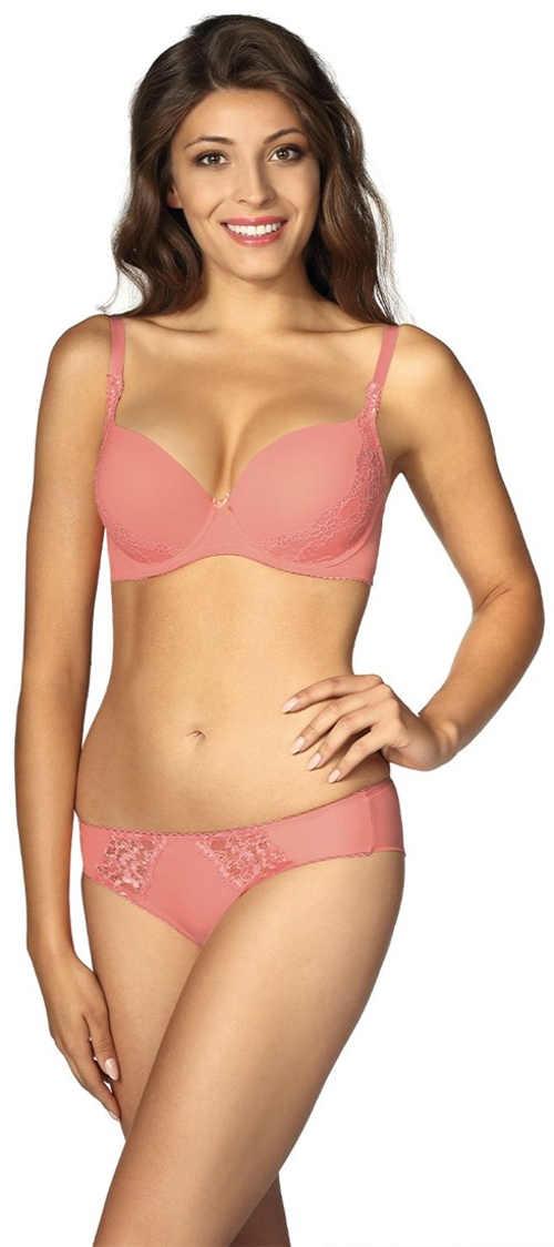 Světle růžové dámské spodní prádlo Lupoline