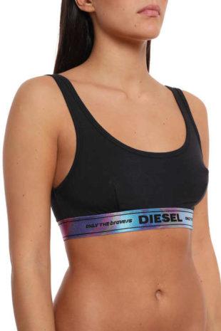 Sportovní podprsenka Diesel v jednoduchém komfortním střihu