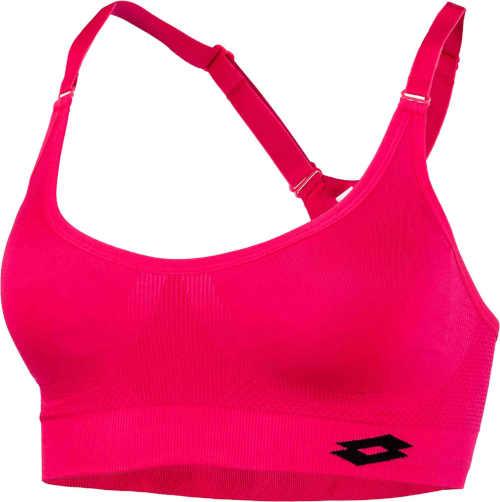 dámská sportovní růžová podprsenka