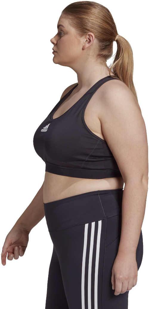 sportovní černá podprsenka Adidas