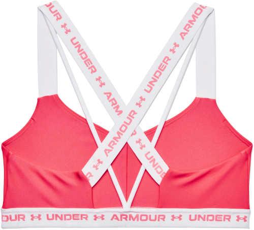 růžovo-bílá sportovní podprsenka